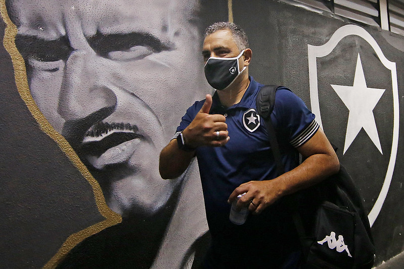 Botafogo encerra os treino para enfrente o Remo pela Serie B