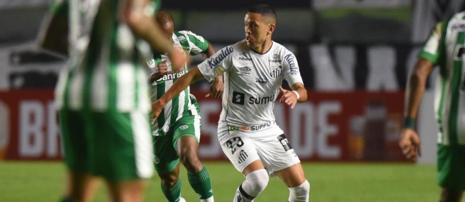Pelo Campeonato Brasileiro, Santos empata com o Juventude na Vila Belmiro