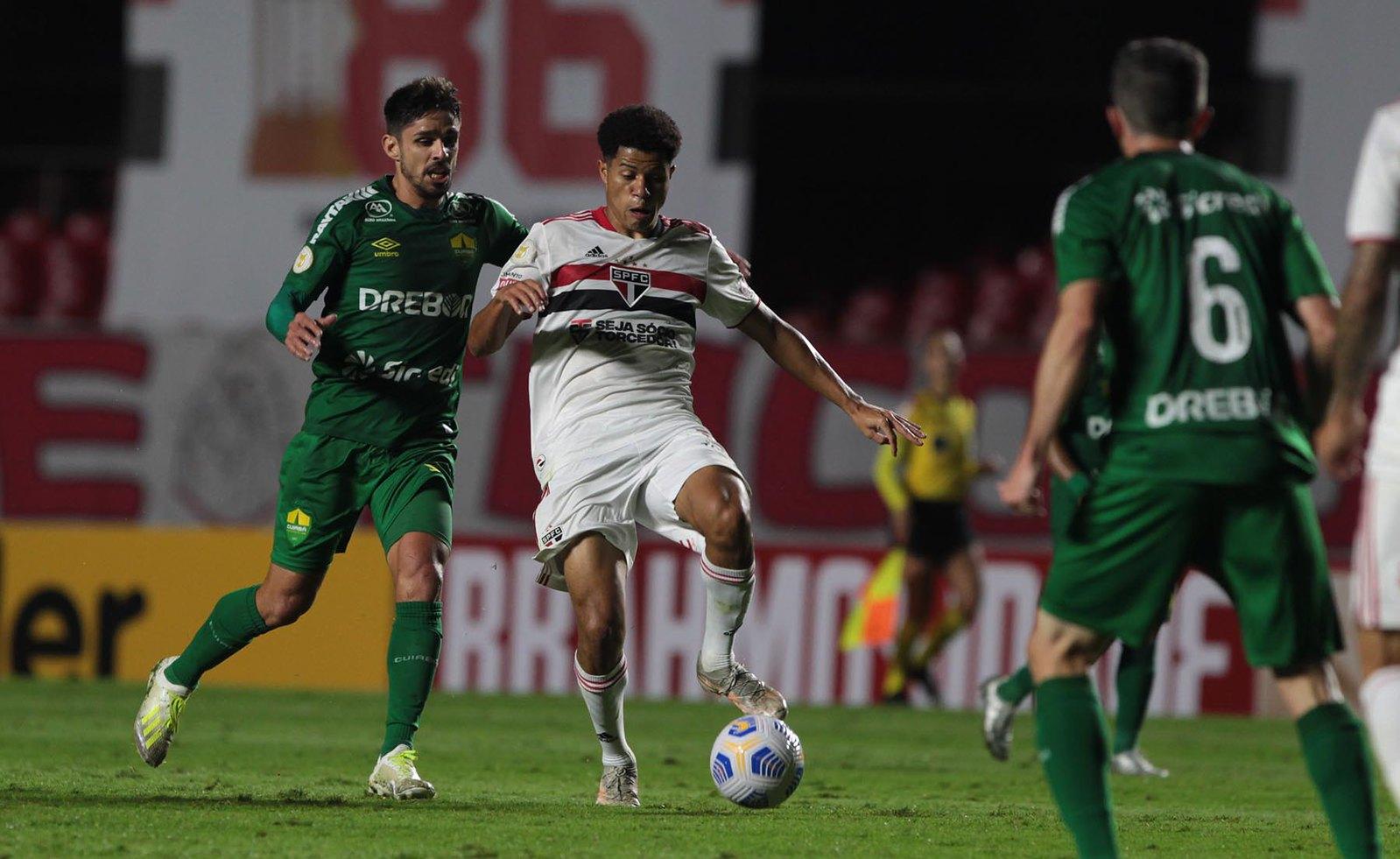 São Paulo empata com o Cuiabá pelo Brasileirão