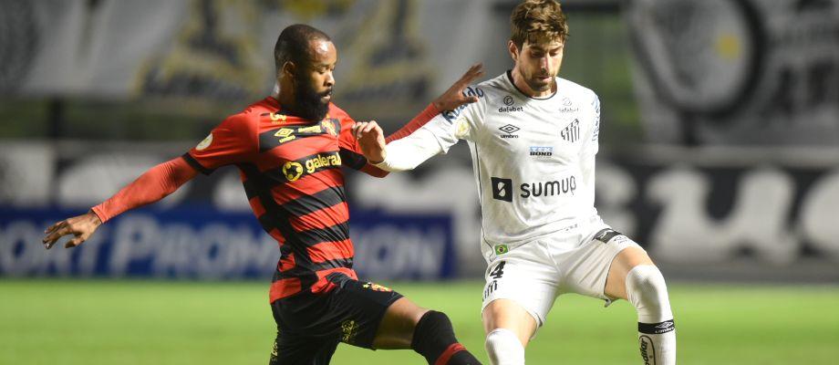 Na Vila Belmiro, Santos empata com o Sport