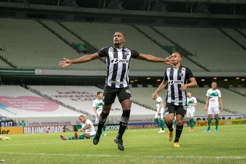 Com gols de Saulo e Gabriel Lacerda, Ceará vence Juventude na Arena Castelão
