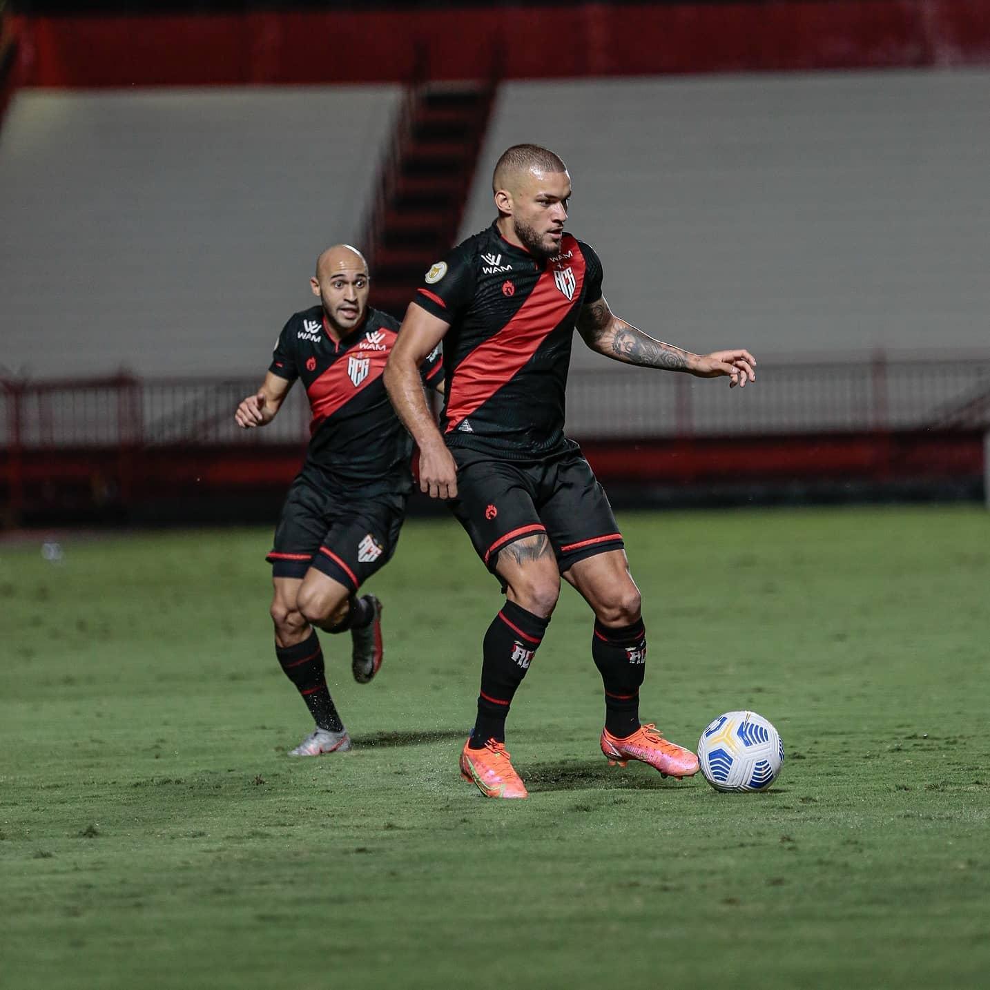 Em Goiânia, Atlético-GO e Sport empatam pelo Brasileirão Assaí