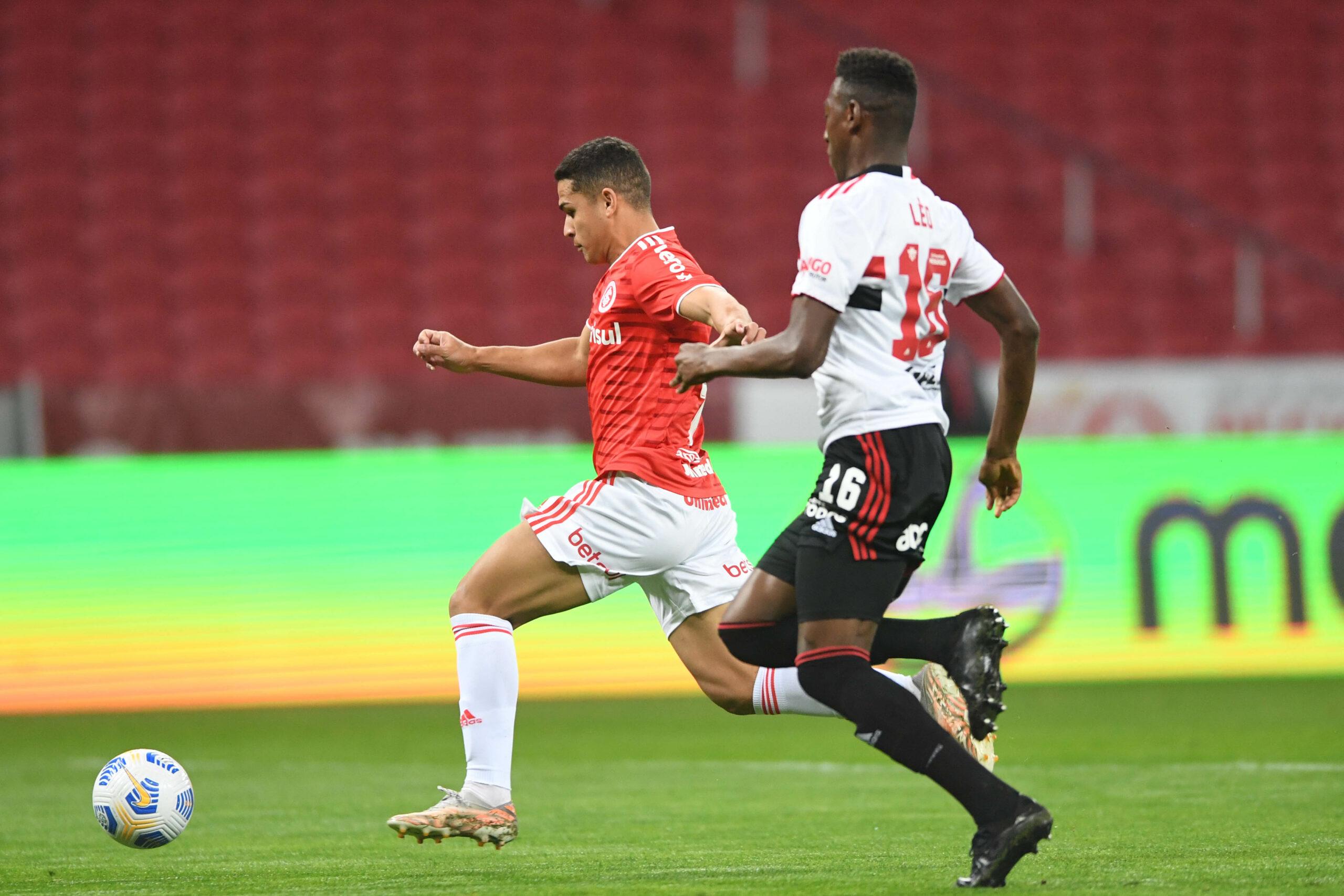 Inter é superado pelo São Paulo no Beira-Rio