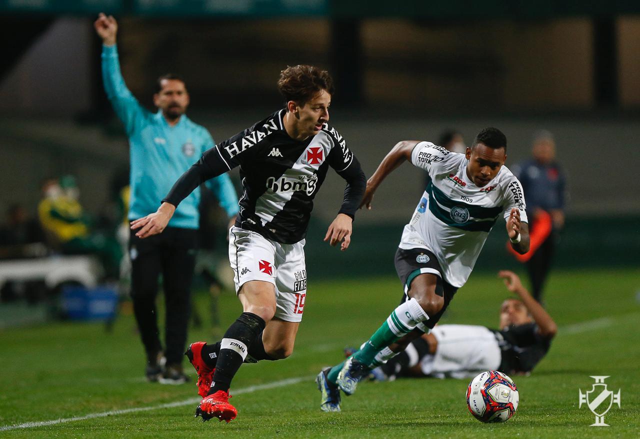 Vasco empata com o Coritiba pela 11ª rodada do Campeonato Brasileiro