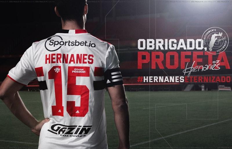 Eternizado na história do clube, Hernanes se despede do Tricolor