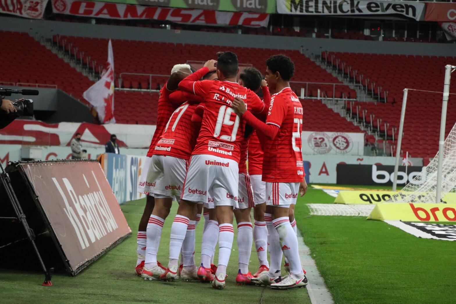 Internacional derrota o Juventude e volta a vencer no Brasileirão Assaí