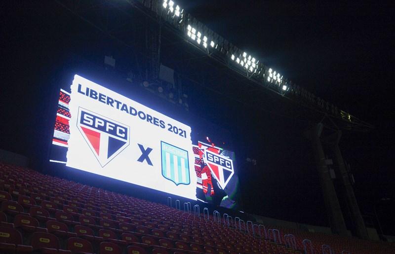 Tricolor encara o Racing pela vaga nas quartas da Conmebol Libertadores