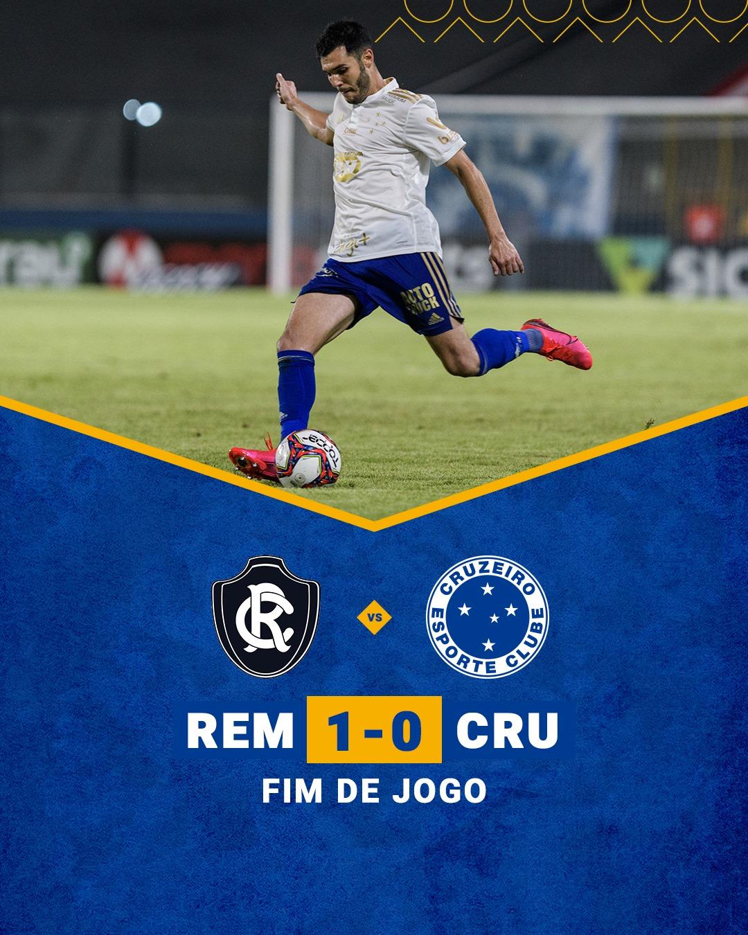 Em Belém, Cruzeiro perde para Remo