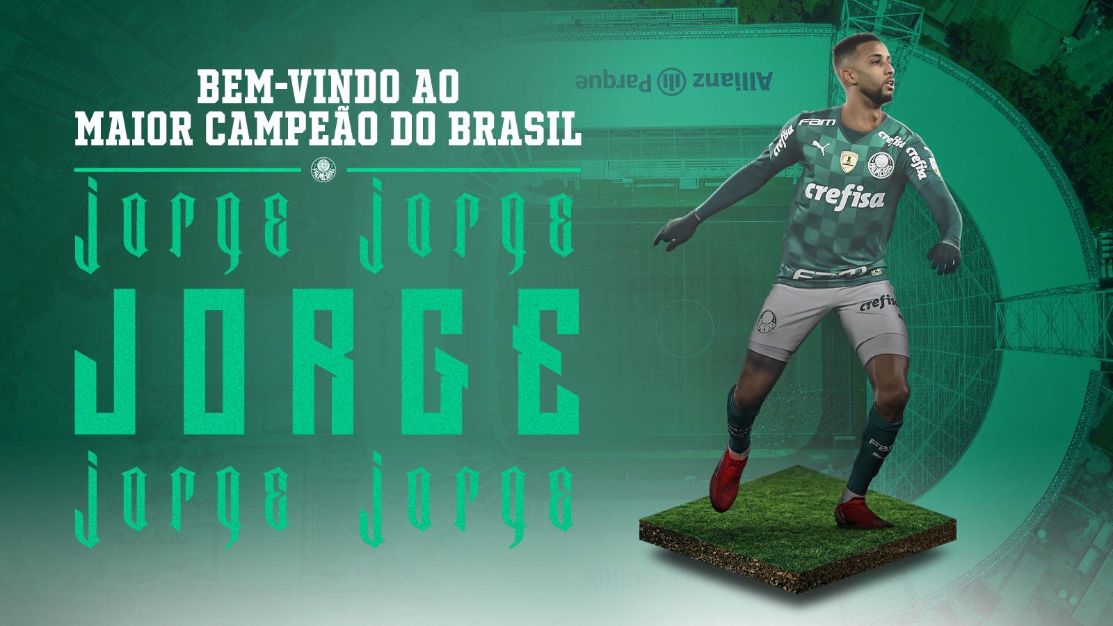 Palmeiras define contratação do lateral-esquerdo Jorge