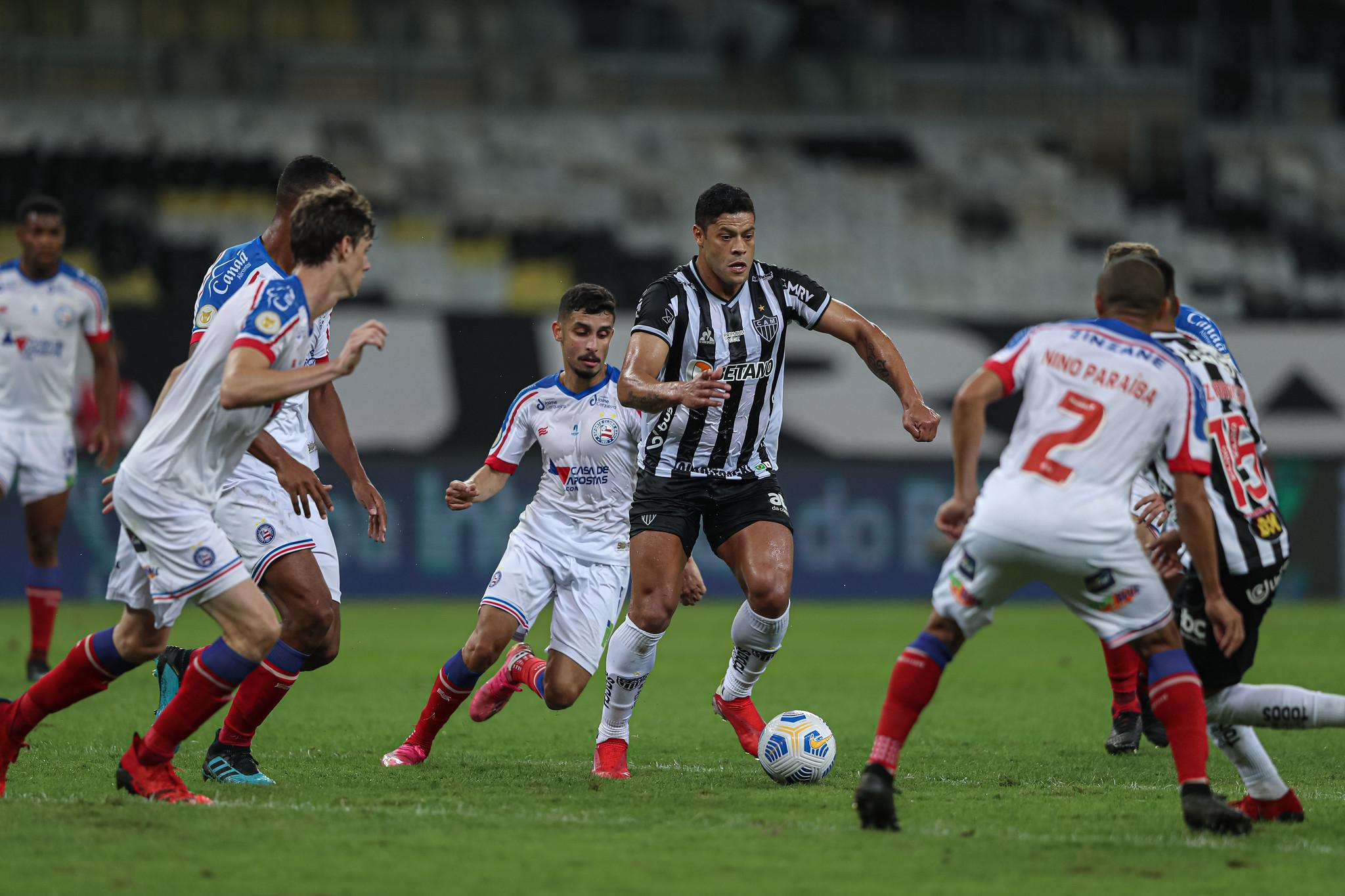 Atlético vence o Bahia no primeiro confronto das oitavas