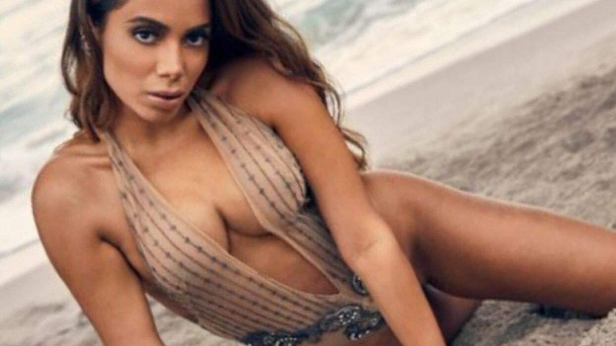 Anitta divulga clique apimentado na praia e dá surra de sedução no Instagram