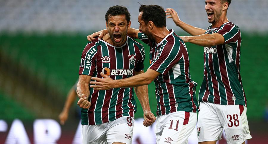 Fluminense vence o Cerro com gol de Fred e vai às quartas da Libertadores