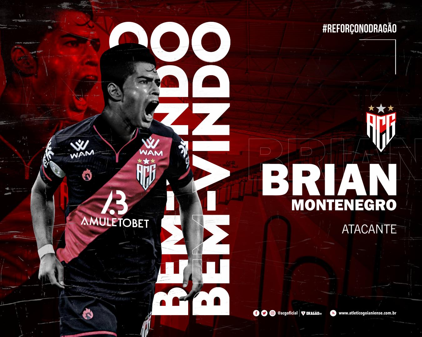 Brian Montenegro é reforço do Atlético Goianiense