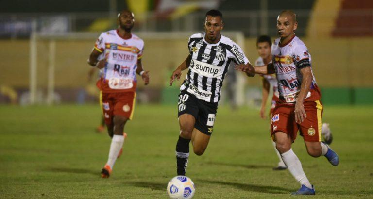 Em Juazeiro, Santos FC se classifica para as quartas de finais da Copa do Brasil