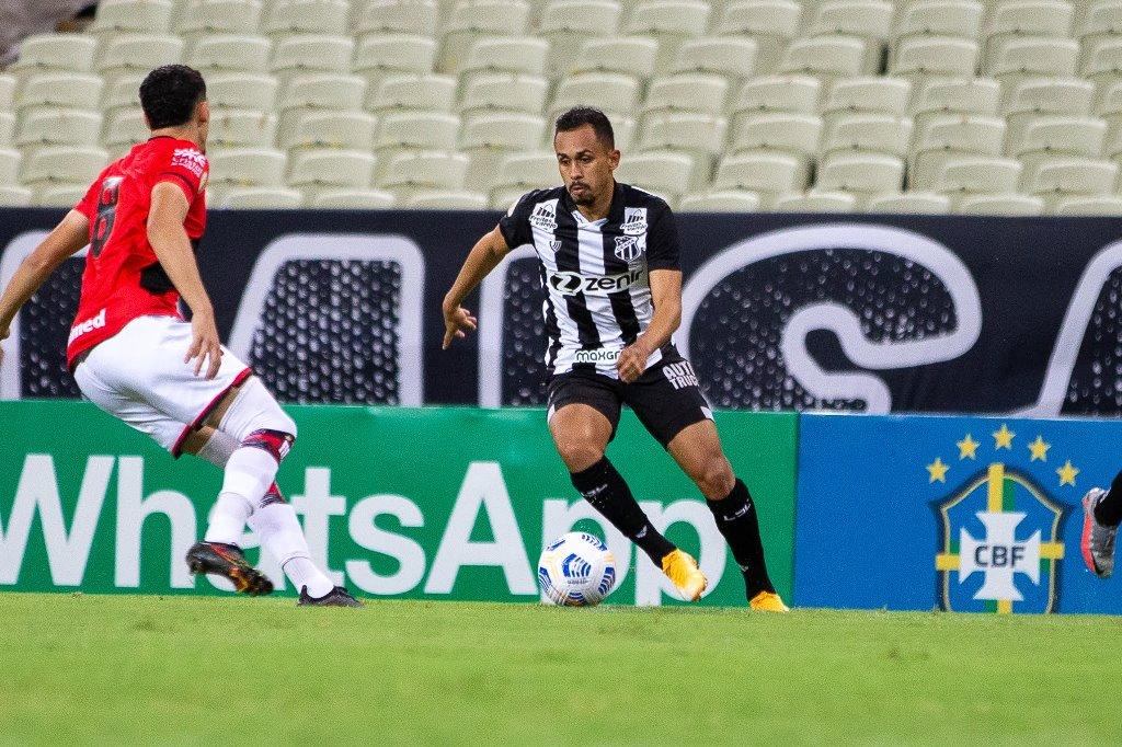 Série A: Na Arena Castelão, Ceará empata com o Atlético Goianiense e chega a 11 jogos de invencibilidade