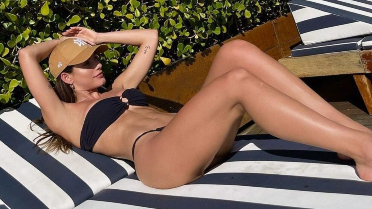Mari Gonzalez curte clima quente com biquíni provocante: