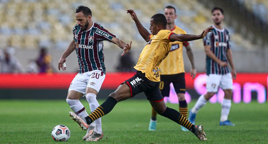 Fluminense busca empate no jogo de ida das quartas da Libertadores