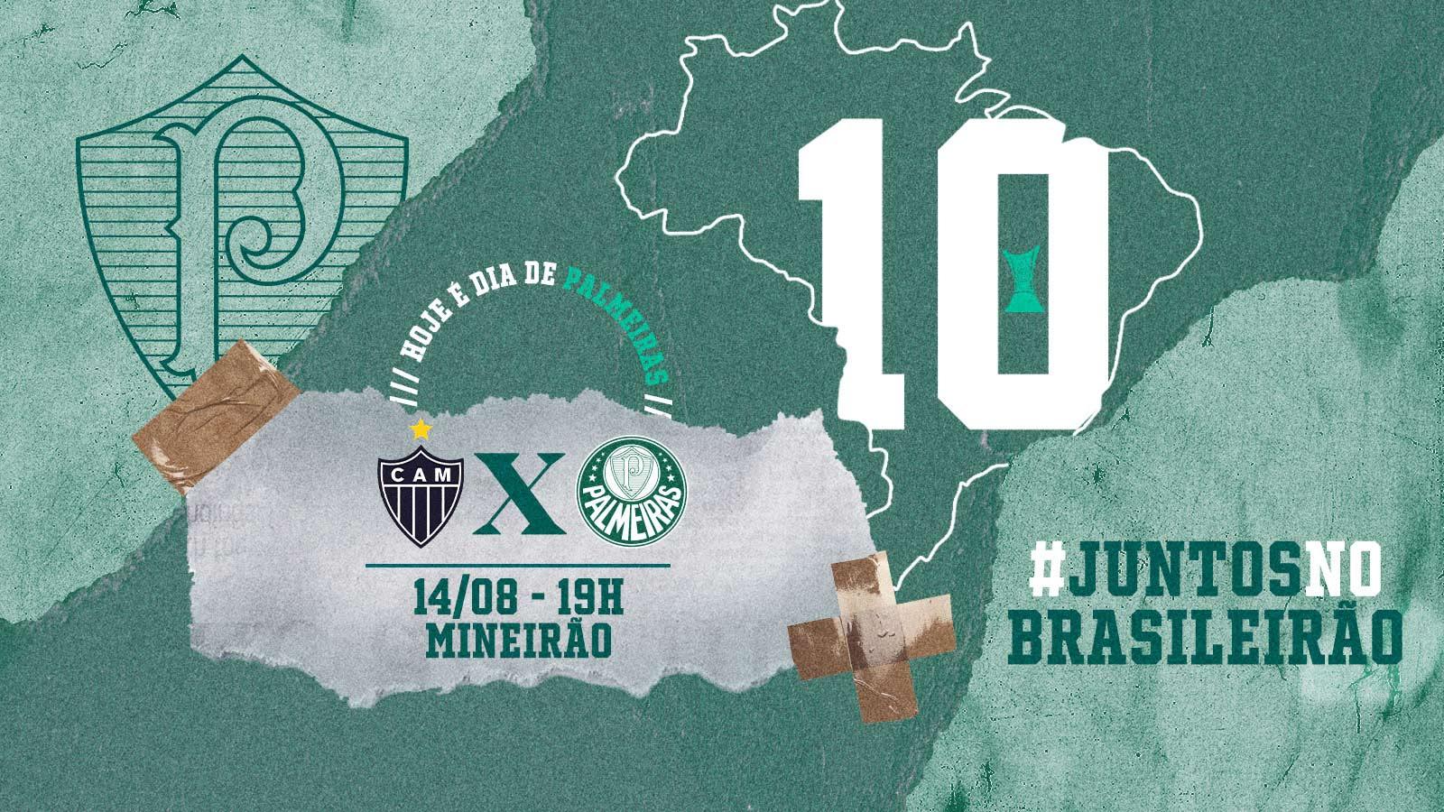 Atlético-MG x Palmeiras: números, estatísticas e curiosidades da partida