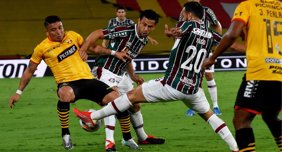 Fluminense empata com o Barcelona e se despede da Libertadores