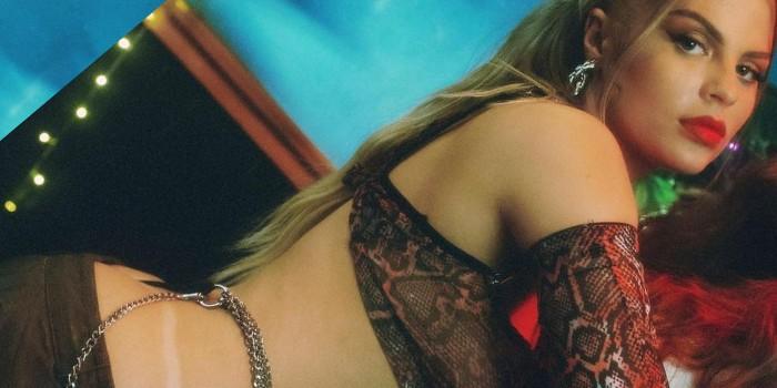 Luísa Sonza posa com look ousadíssimo para a 'Super Dança dos Famosos':