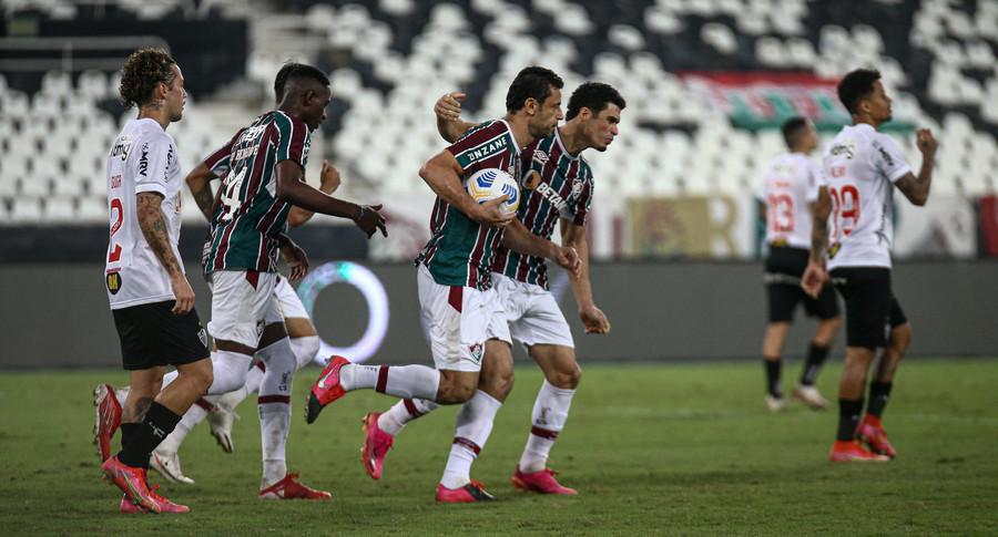 Fluminense é superado no jogo de ida das quartas da Copa do Brasil
