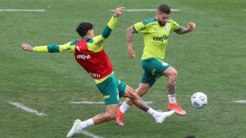 Palmeiras treina e da sequencia a preparação para duelo com Atletico-PR