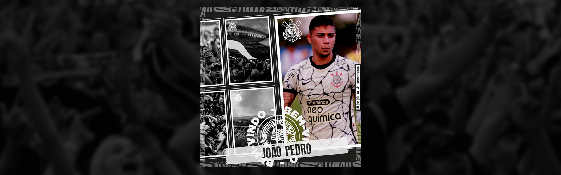 Corinthians contrata lateral João Pedro por empréstimo