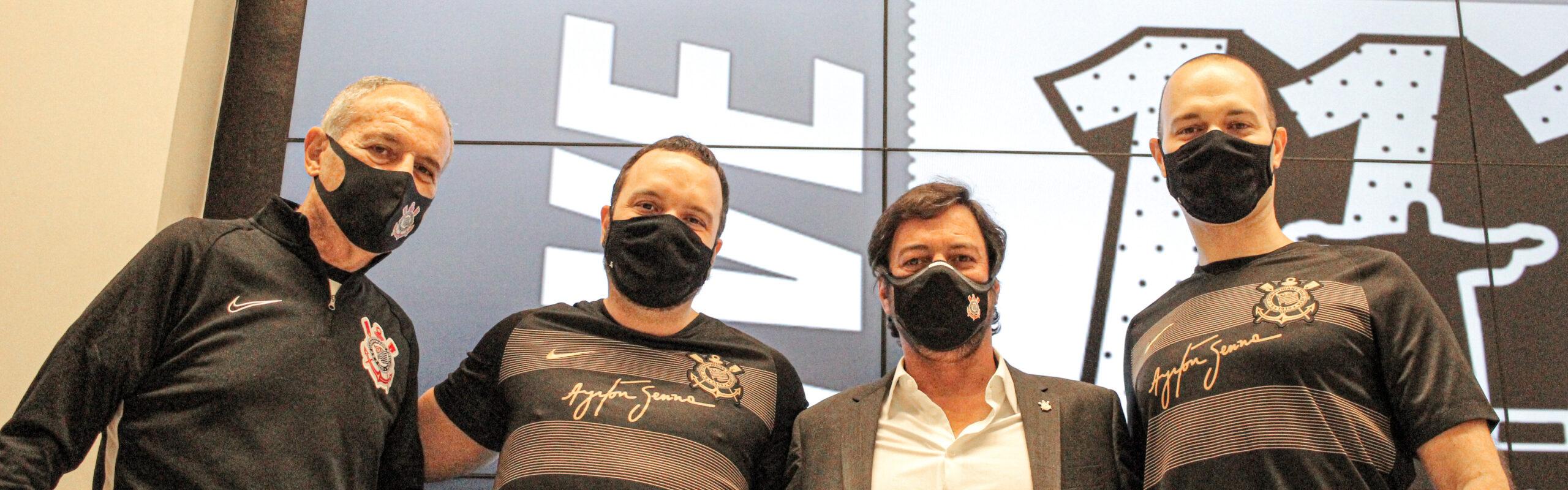 Corinthians e Mercado Bitcoin fecham patrocínio até fim de 2022