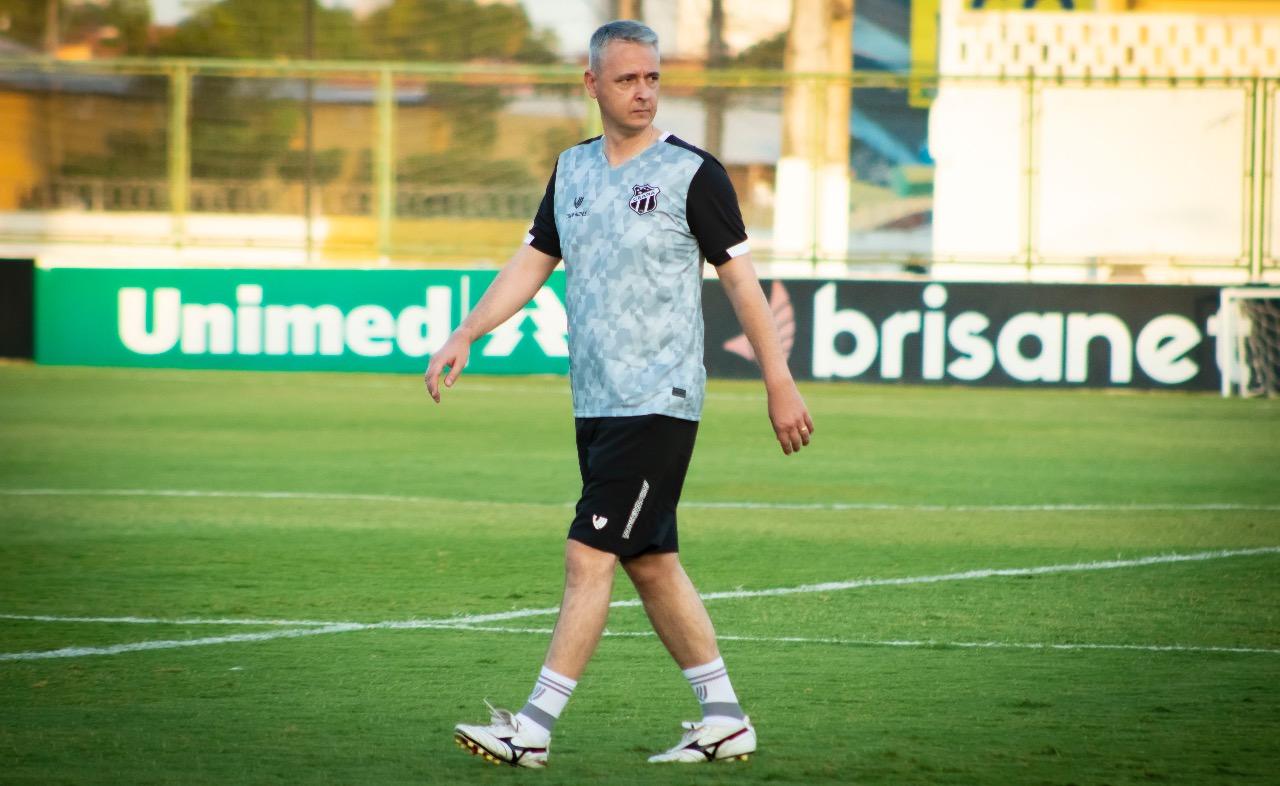 Em Porangabuçu, elenco se reapresenta e já treina sob o comando do técnico Tiago Nunes
