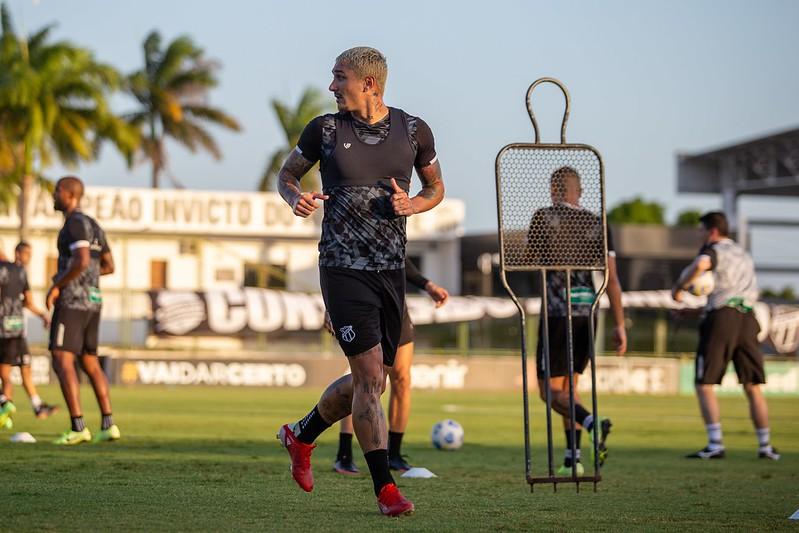 Ceará realiza o treinamento com foco no confronto com o time gaúcho