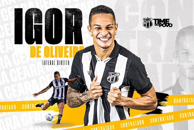 Contratação: Lateral-direito Igor é o mais novo reforço do Ceará
