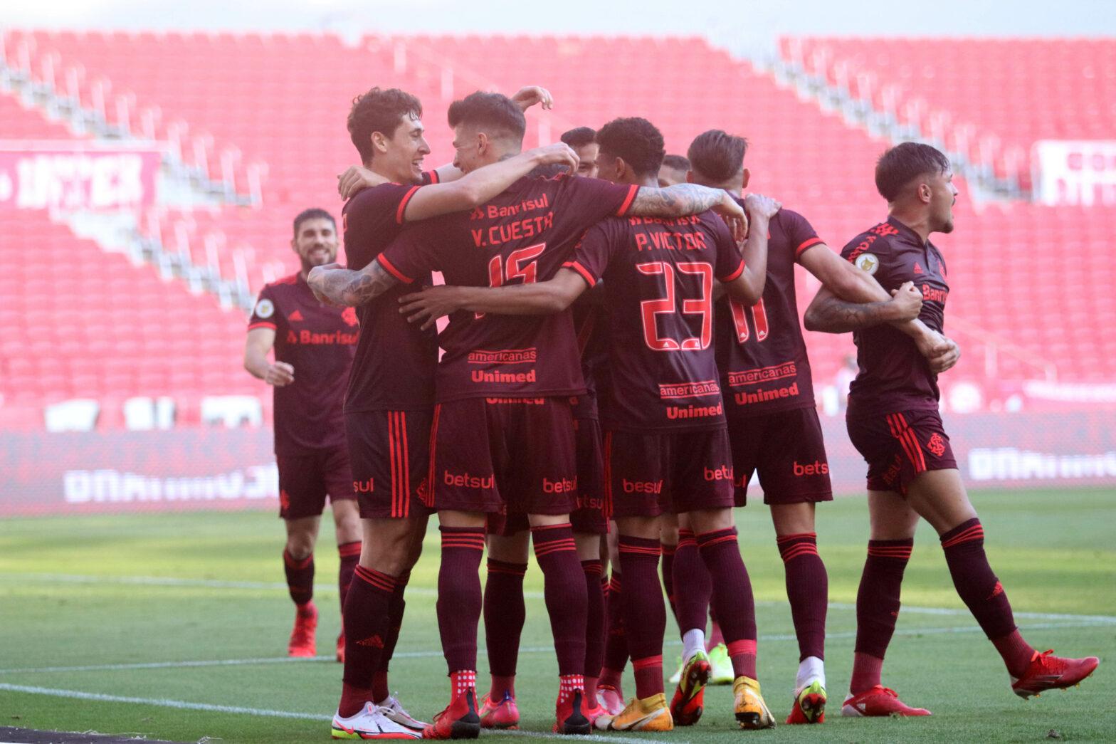Força aérea resolve, e Inter vence Bahia por 2 a 0 no Beira-Rio