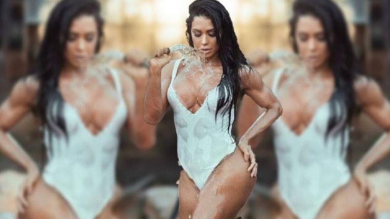 Gracyanne Barbosa dá surra de sex appeal em performance ousada no pole dance