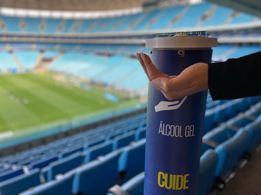Grêmio reforça a importância no cumprimento dos protocolos e procedimentos para o jogo Grêmio x Sport