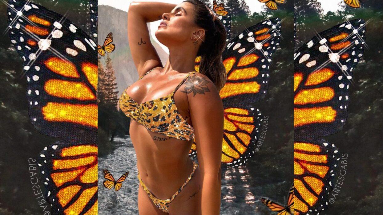 Carol Peixinho esbanja corpão saradíssimo em body transparente:
