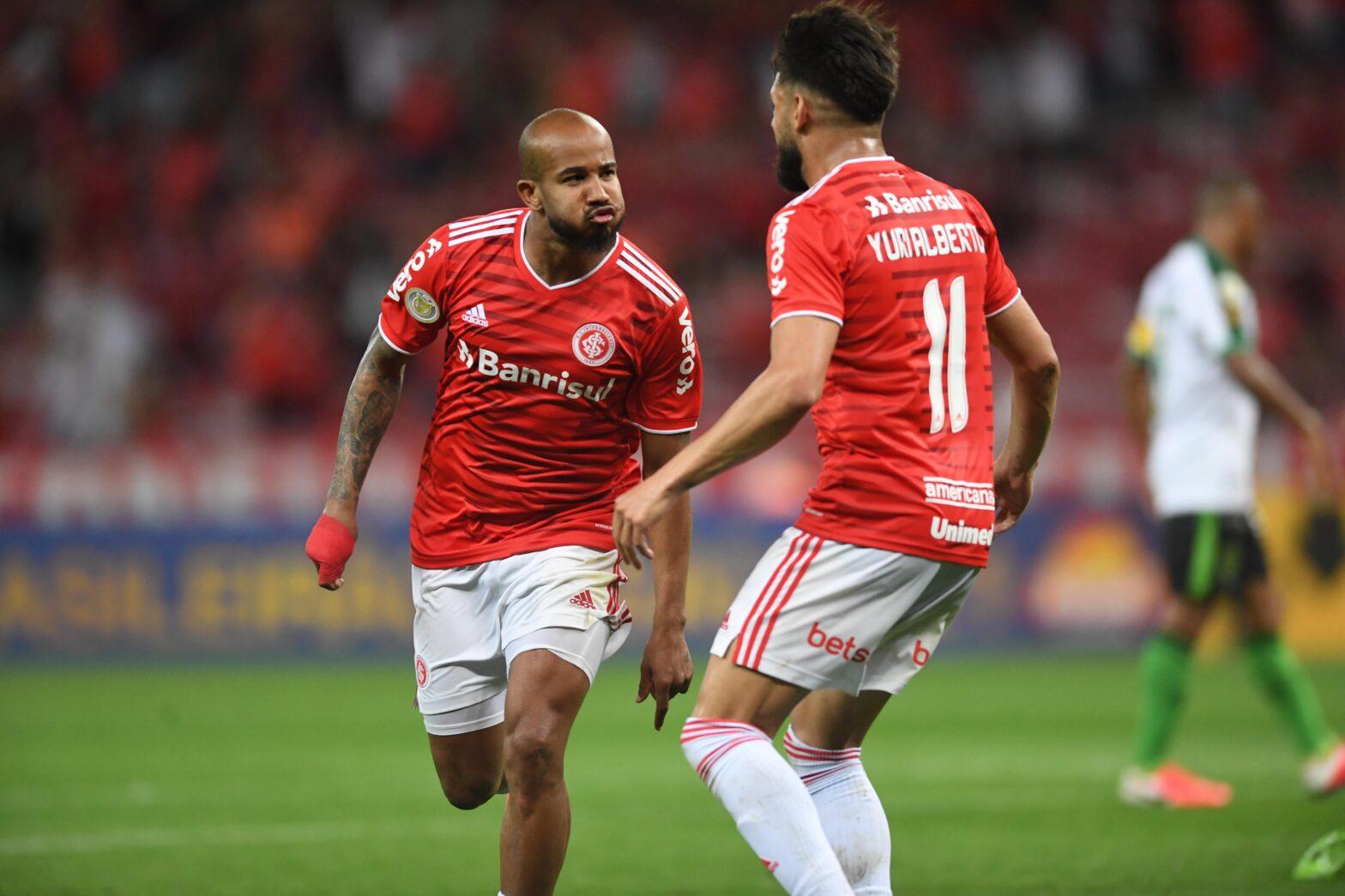 Beira-Rio vira Wakanda, e Inter vence o América-MG por 3 a 1