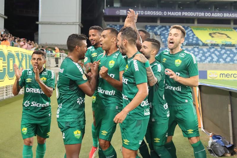 Cuiabá vence o Sport e  volta  a  ficar  entre os 10 primeiro do Brasileirão