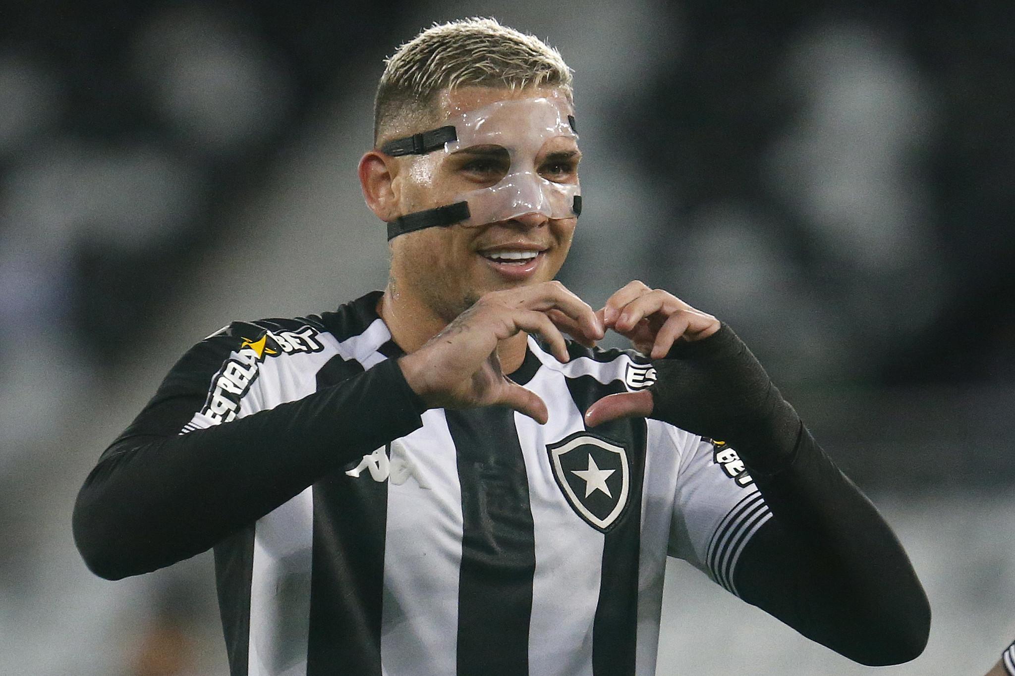 Botafogo ganha de 3 x 0 do Brusque pela serie B
