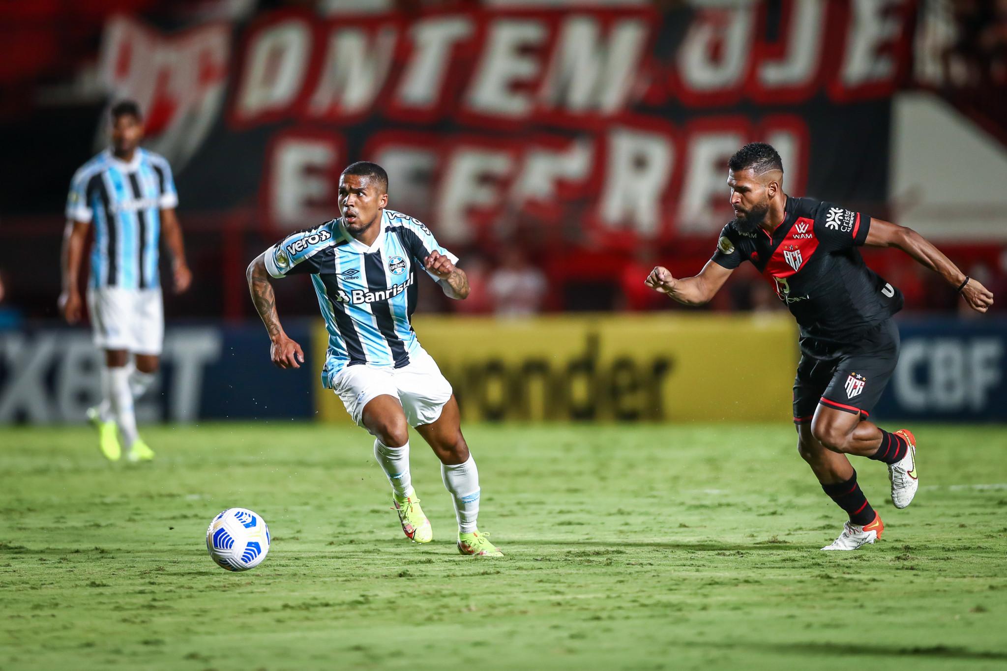 Grêmio é derrotado pelo Atlético-GO, na 28ª rodada do Brasileiro