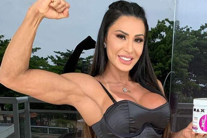 Gracyanne Barbosa faz TikTok descontraído sobre academia e esbanja corpão sarado