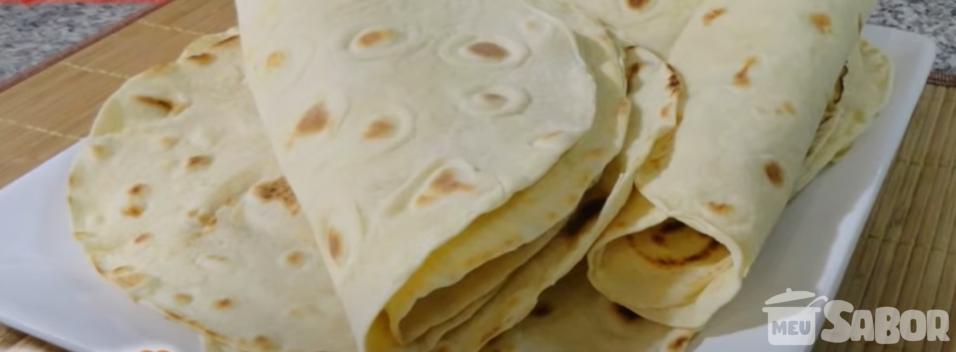 Tortilhas para o taco
