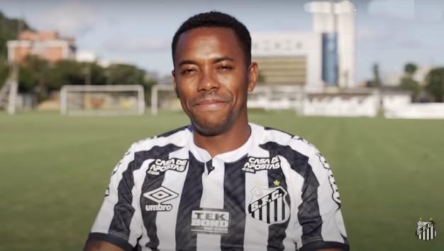 Conselho do Santos vai analisar contratação de Robinho na próxima quarta-feira