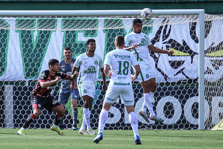 Chapecoense e Vitória empata de 1 a 1 pela 16ª rodada da Série B