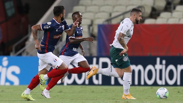 Palmeiras faz mais um jogo ruim e é derrotado contra o Fortaleza
