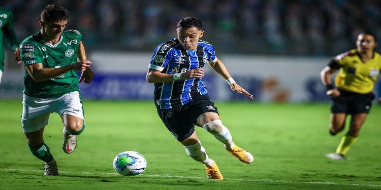 Grêmio empata sem gols com o Goiás, fora de casa, no Brasileirão