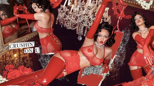 Rihanna faz ensaio de lingerie e bomba na web: