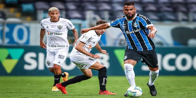 Atlético MG e Grêmio fica no empate de 1 a 1pela 31ª rodada da Série A