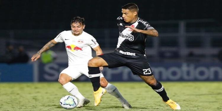 Vasco não supera o Bragantino e perde de 1 a 0