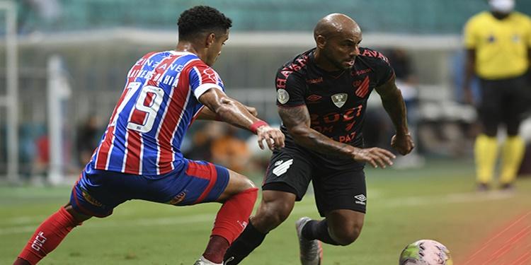 Athletico PR joga mal e perde para o Bahia