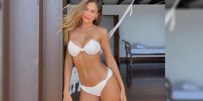 Mari Gonzalez quebra a internet ao mostrar suas curvas em ângulo diferenciado